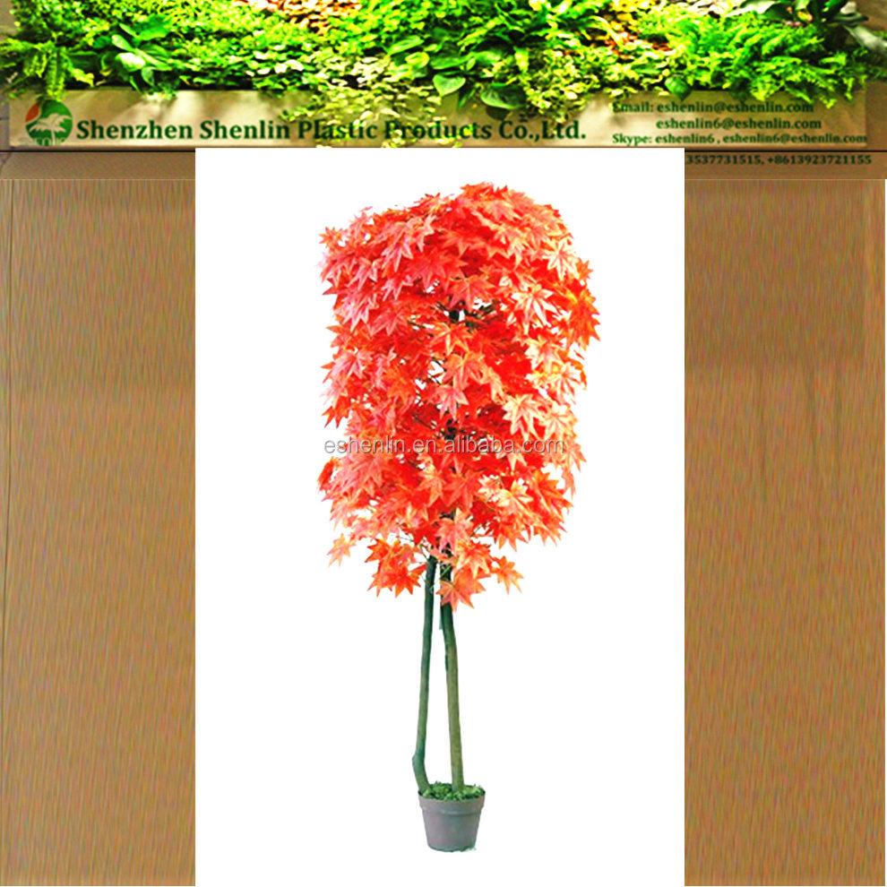 Rable rouge artificielle r el tronc arbre plante - Plante artificielle pour exterieur ...