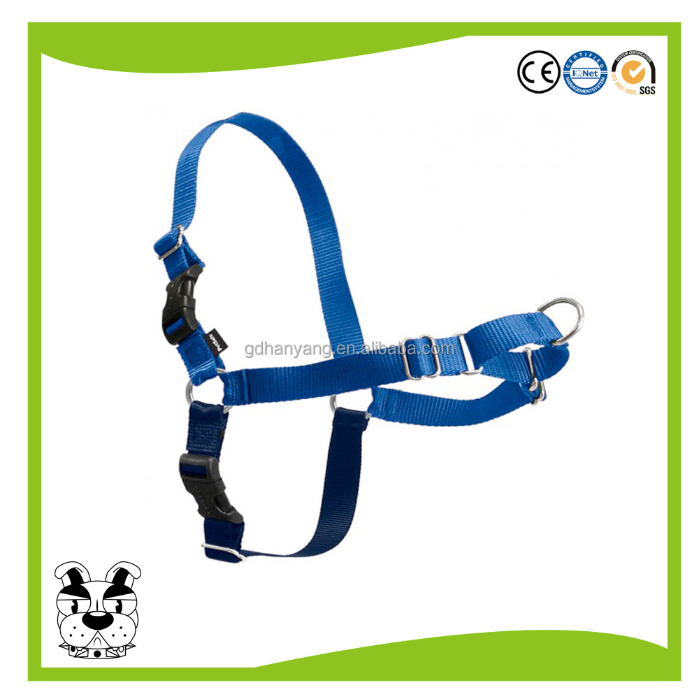 Pet durable nylon easy walk dog harness matching leash/collar available