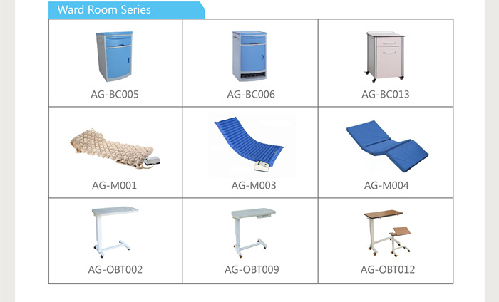 AG-BMS001B ward room products solution supplier manual medical hospital bed specifications