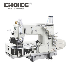 GOLDEN KEUZE 1508PRD/<span class=keywords><strong>D</strong></span> Direct-drive 4N Chain Stitch Multi Naaimachine Voor Waistbanding Met Indepent Upper & lagere Puller