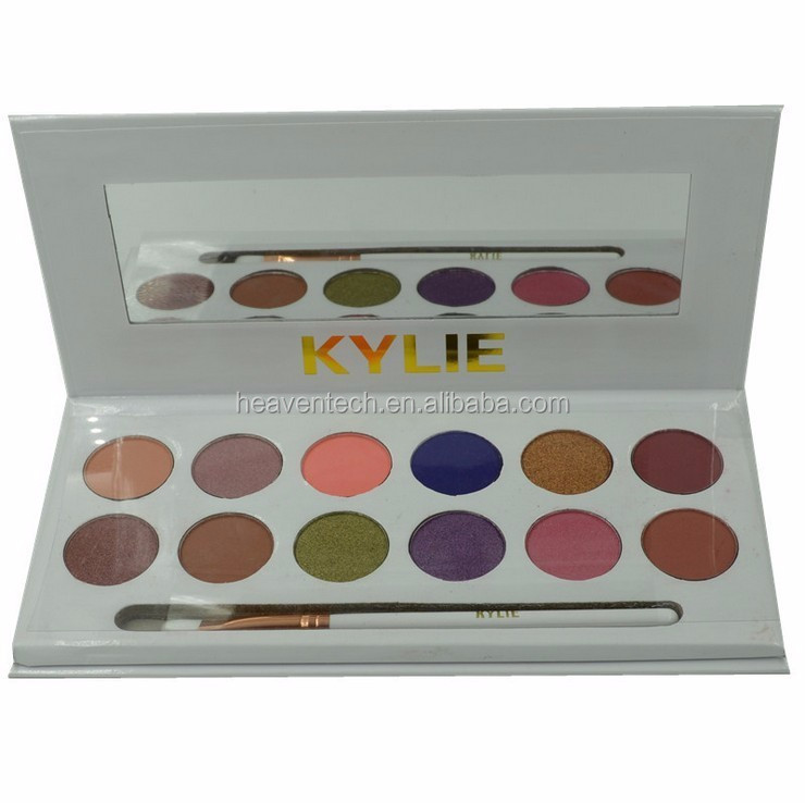 Kylie Cosmetics Kylie Jenner edition 12 colors Eyeshadow the royal peach Palette