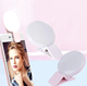 Mini rechargeable selfie ring light with led and mirror