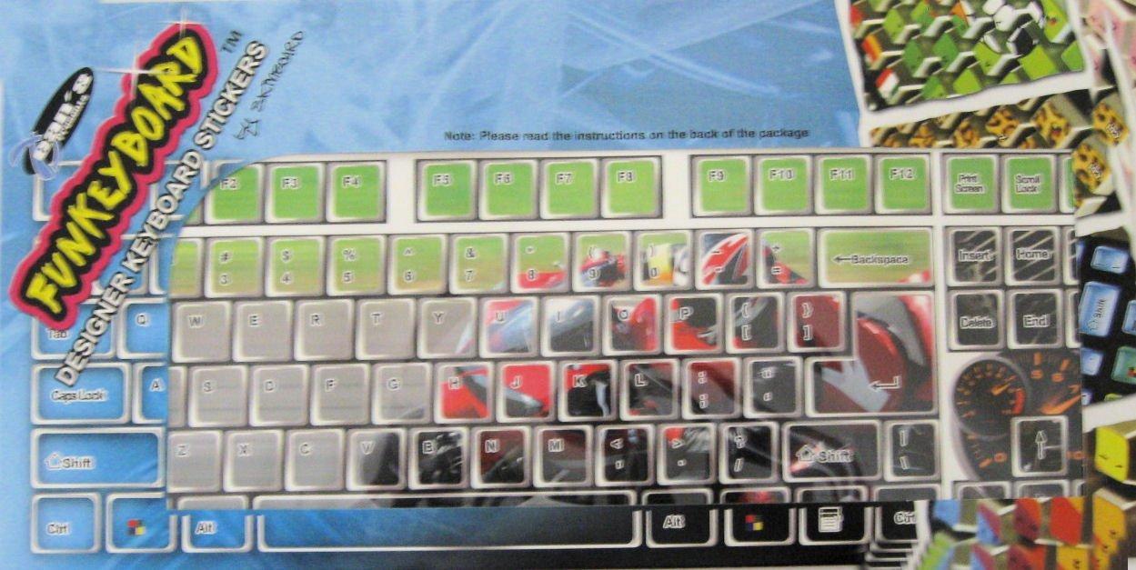 Zebra Funkey Board Keyboard Design Cover 02