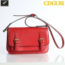 2015 fashion lady genuine leather handbags famous designers shoulder bags top quality cow leather message bag