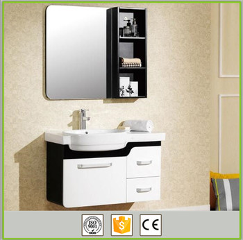 Acrylic Sliding Door Bathroom Mirror Cabinet
