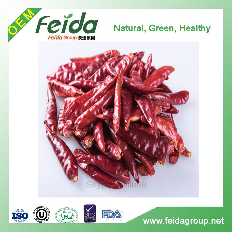 natural air dried red chili without sudan red