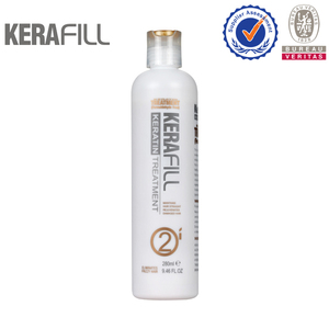 Keratin Hair Straightening With Collagen Hair Treatment