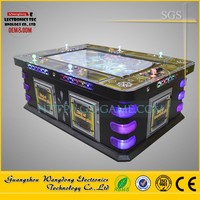 8 Player Arcade Machine Fire Dragon King of treasures plus fish hunting game with chain lightning for 7-24 gambling house