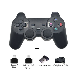 Hot 2.4G Wireless Gamepad PC For PS3 TV Box Joystick 2.4G Joypad Game Controller Remote For Xiaomi Android