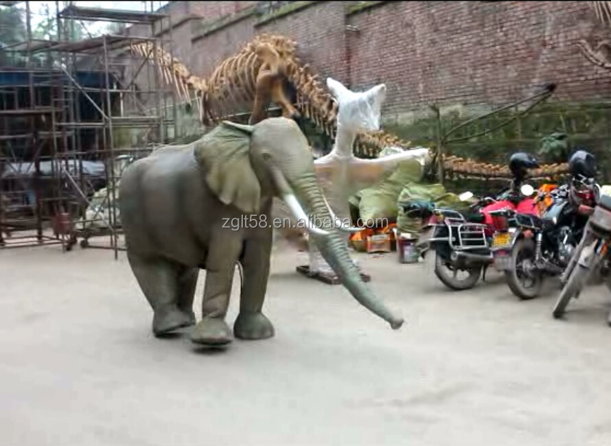 Elephant Costume Animal Costume for Adults Park Performance