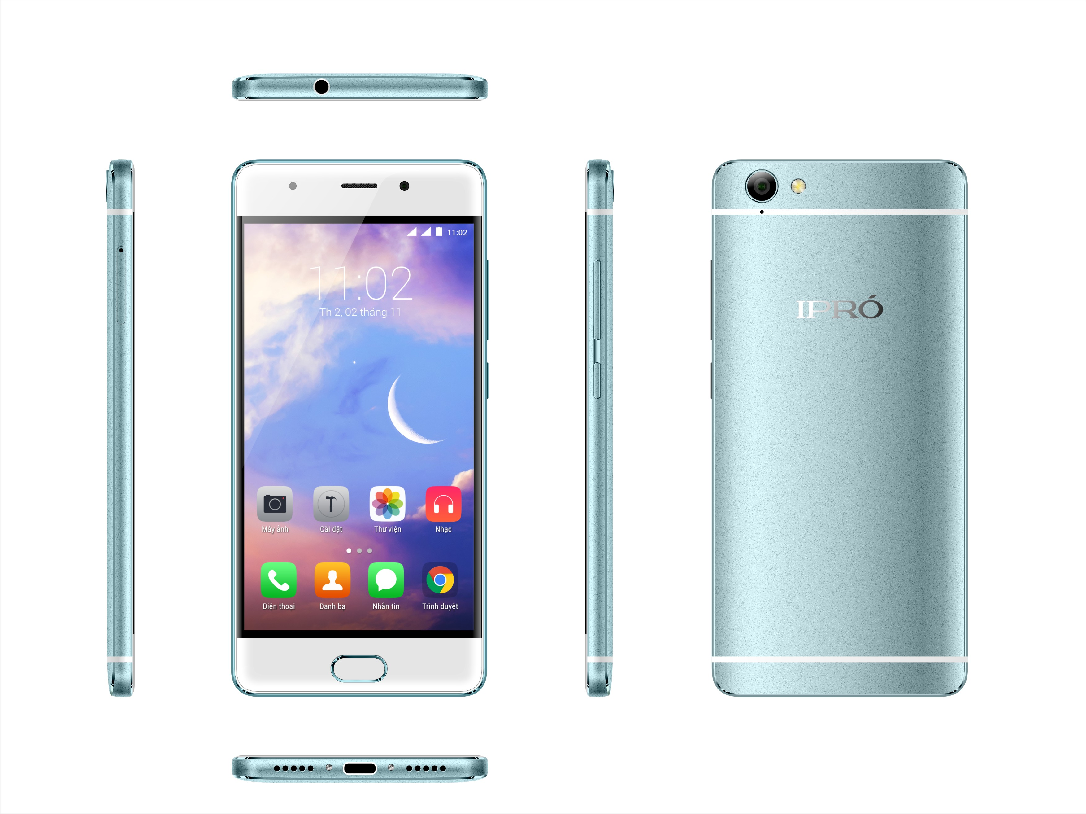 IPRO GALA 6(I950D)- 2350mAh Battery Quad Core China OEM Smartphone 4G Lte Android 6.0 mobile phones all brands Super Slim LTE