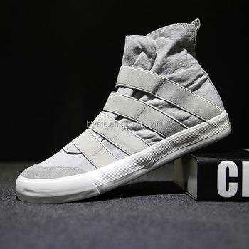 Men Fashion Hip-hop Dance Canvas Shoes
