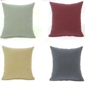 custom print throw pillow plain plush cushion cover 18   with custom logo 5a15b8ac5