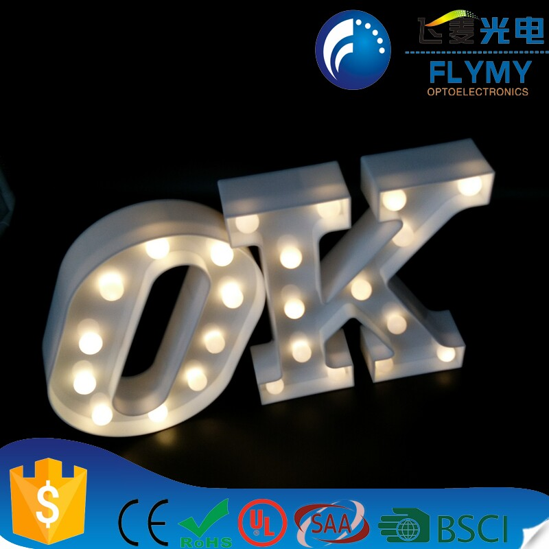DELICORE LED Marquee Letter Lights Alphabet Light Up Sign for Wedding Home Party Bar Decoration