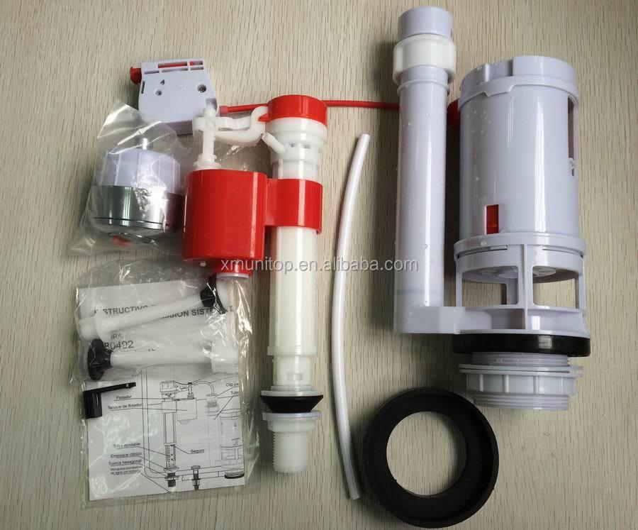 spare parts for toilet flushing system. fill valve Cable control dual flush Toilet valves Flush Fill Valve Control Dual Valves