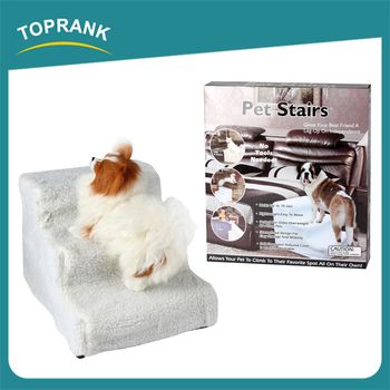 New Design Easy Move Soft Dog Step Stairs With Washable Fleece Cover