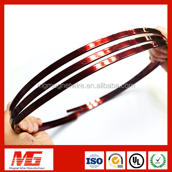 Trade Assurance Enameled Square Copper Magnet Winding Wire For Motor