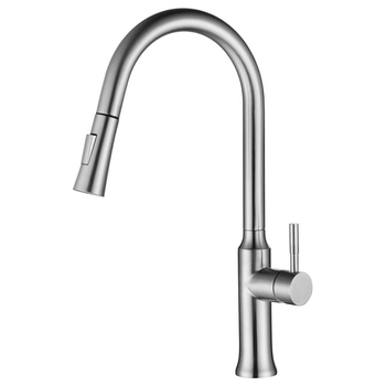K1 American Standard Hot And Cold Extension Single Hose Kitchen Sinks SUS 304 Stainless Steel Pull-out Faucet Mixer Tap