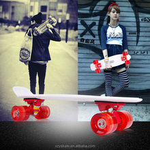 High End New Plastic Mini Cruiser Flash Wholesale Longboard Skateboard