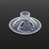 Transparent medical grade liquid silicone