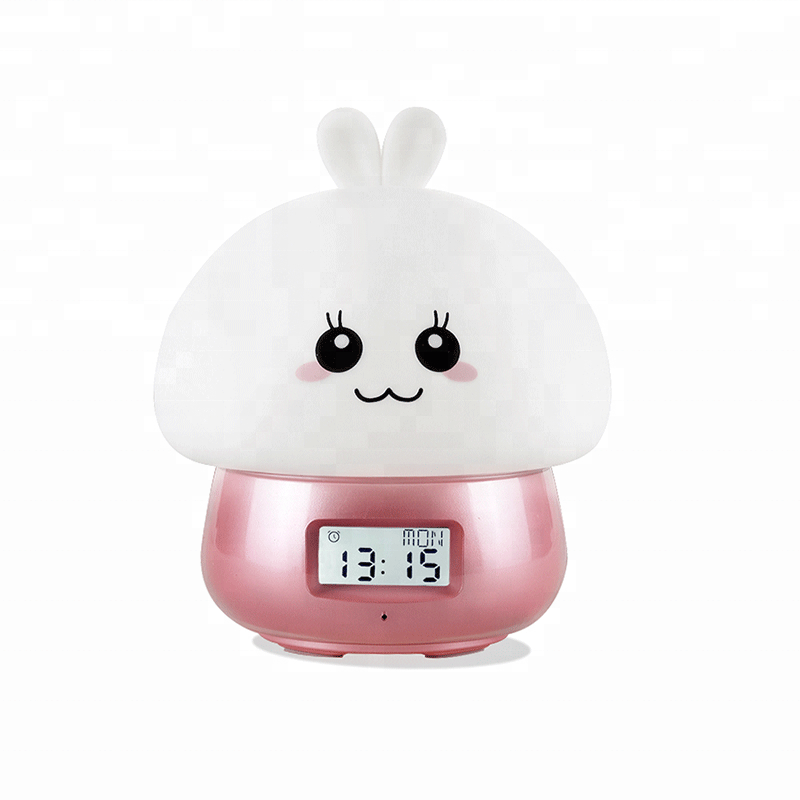 Recording led high baby decoration ring light night lamp led with alarm clock function