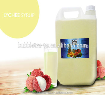 Lychee Concentrated Syrup Fruit Juice