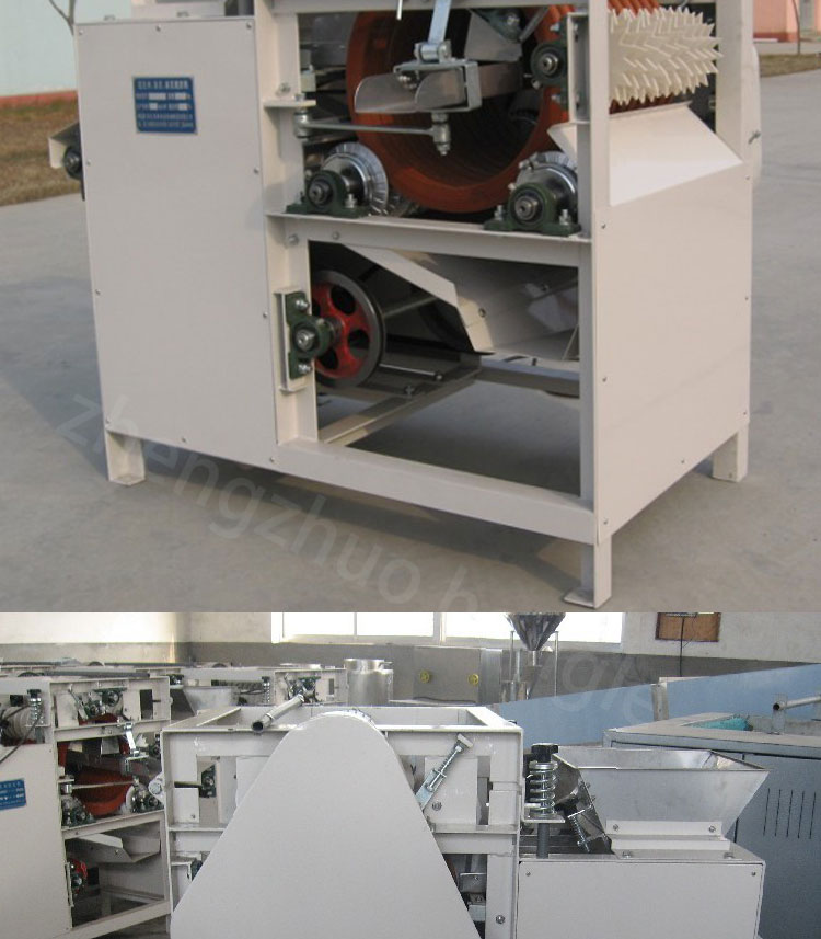 Advanced peeling machine for almond