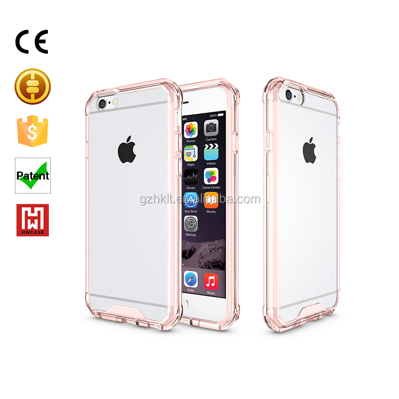 2016 Fashion Designer Soft Clear Transparent TPU + PC Mobile Phone Case For Apple iPhone 6 Secret Garden Series