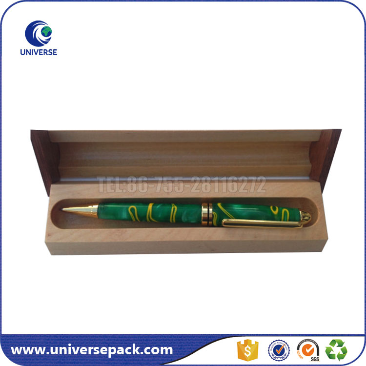 New Design Custom Made Wood Pen Display Boxes With Logo