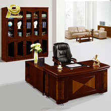 Gloss Wooden furniture set executive office desk price