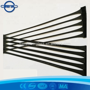 High tensile strength hdpe geogrid for soil reinforcement