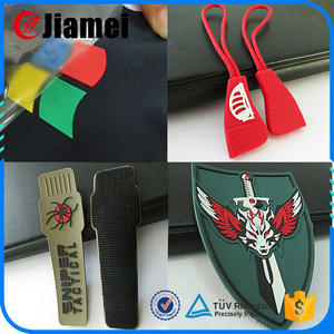 OEM 2D 3D flat or embossed logo custom 3d soft pvc rubber patch