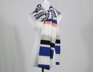 A long knit scarf Lady's fashion scarf square scarf