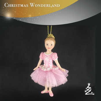 wholesale ballerina dolls christmas ornament