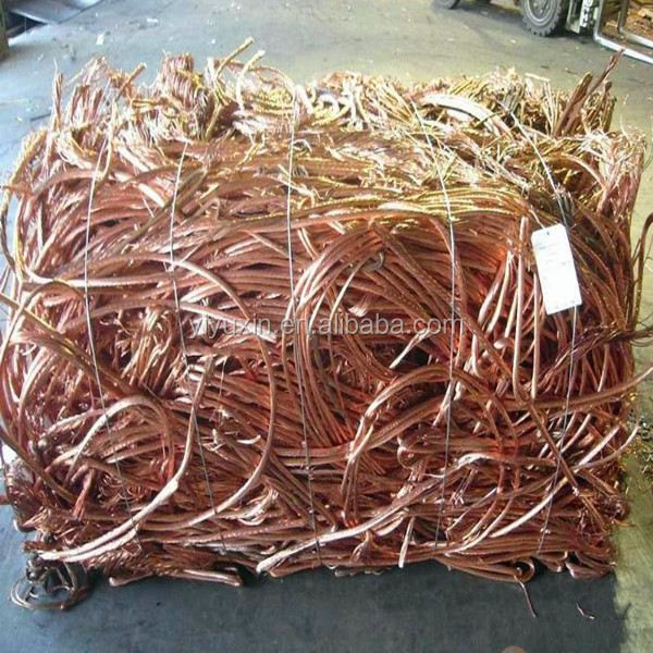 copper wire prices MILBERRY e99.99% copper scrap 9999