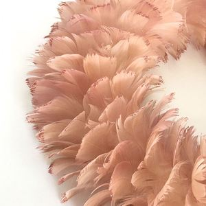 Wholesale Price Artificial Man Made Natural Feather Wreath