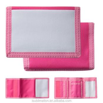 sublimation custom photo printing nylon wallets buy nylon wallets