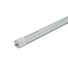CE UL ETL DLC 2400mm aluminum FA8 single pin 36w 8ft t8 led tube light bulb
