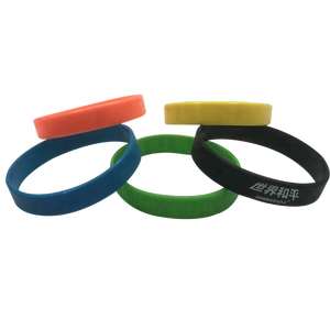 factory price eco-friendly colorful rubber/silicone band