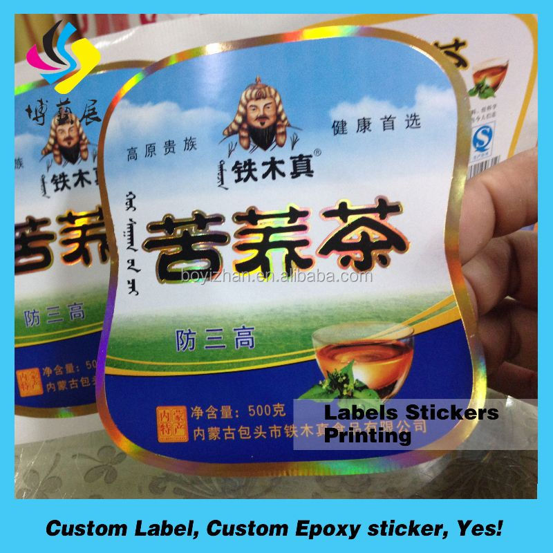 Barcode Label Usage and Satin Material industrial stickers