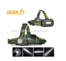 Boruit ( RJ-0158) High power Infrared Sensor CREE XPE LED Headlamp 1X18650/3XAAA Battery support