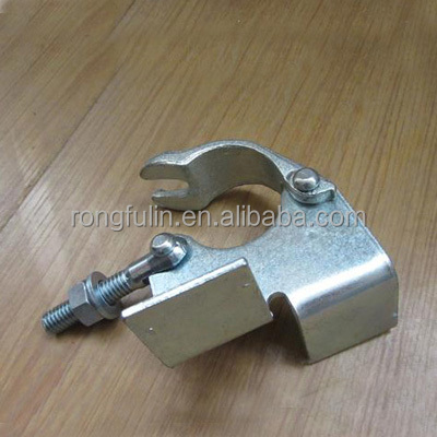 Board Retaining Clamp forged scaffolding coupler Q235 steel coupler scaffolding clamp 48.3mm Zinc Plated