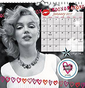 Marilyn Monroe Calendar 2017 -- Deluxe Marilyn Monroe Art Wall Calendar (12x12)
