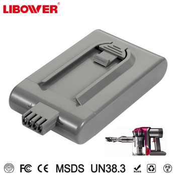 Best price Li-ion rechargeable DC16 for vacuum cleaner 21.6V battery Packs Libower ce