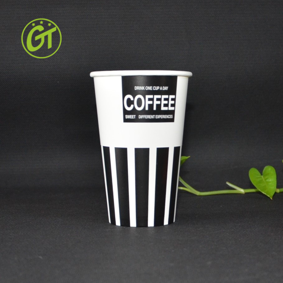 Vintage Cups Thick Wall Paper Cups for Hot or Cold Beverage Use