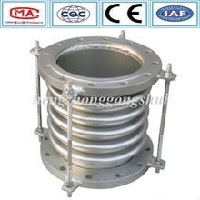 Pipe fitting stainless steel material flange pipe compensator