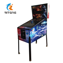 Chinese coin operated <span class=keywords><strong>games</strong></span> kinderen 3D video pinball arcade machine