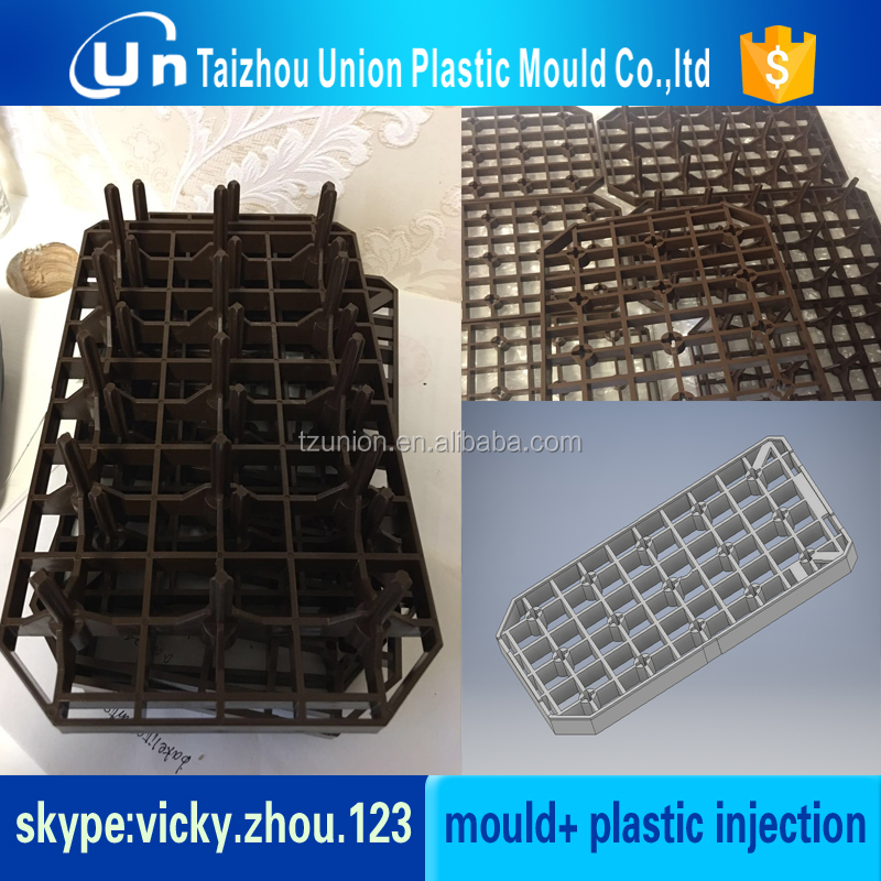 plastic CD case tray mould/egg tray mould