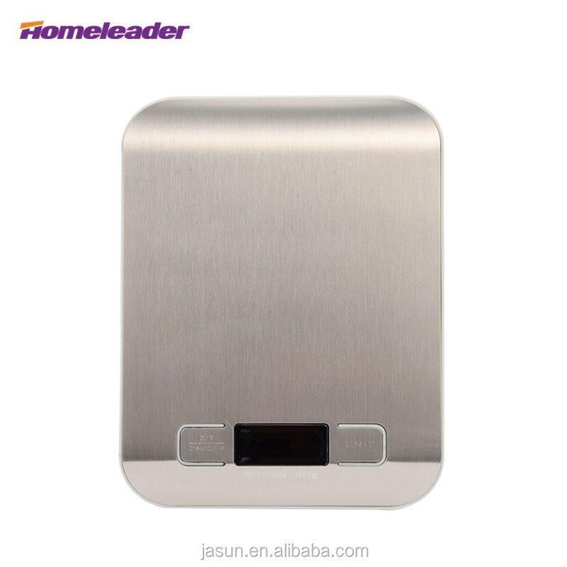 (Stock in RU)Homeleader 2016 New Digital kitchen <strong>Scale</strong> 5kg, Best Household <strong>Scales</strong> with Led, Electronic Balance for Food
