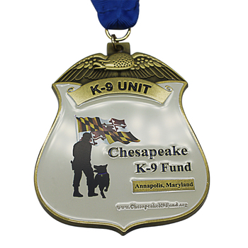Custom logo running gold metal sport award medal gold medal athletics